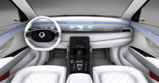 SsangYong Motors Deutschland e-SIV Innenansicht