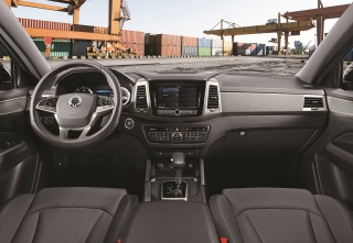 SsangYong Motors Deutschland Musso Grand Interieur
