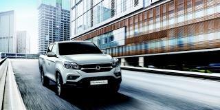 SsangYong Motors Deutschland Musso Grand dynamisch