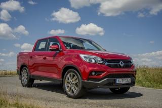 SsangYong Motors Deutschland Musso Front