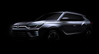 SsangYong Motors Deutschland Korando Aussenansicht Front