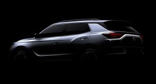 SsangYong Motors Deutschland Korando Aussenansicht Heck
