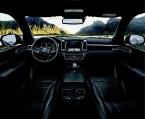 SsangYong Motors Deutschland Rexton Modelljahr 19 Interior