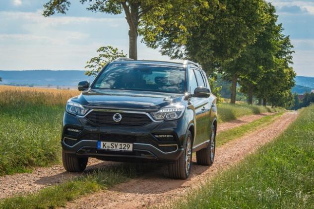 SsangYong Motors Deutschland Rexton Natur