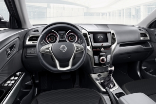 SsangYong Tivoli real Dashboard