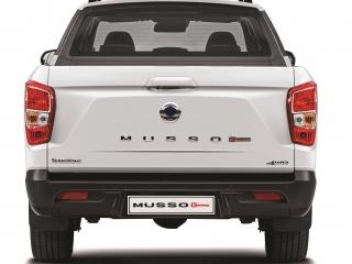 SsangYong Motors Deutschland Musso Grand Heck