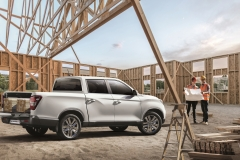 SsangYong Motors Deutschland Musso Grand Ladeflaeche