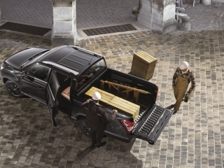 SsangYong Motors Deutschland Grand Musso im Einsatz