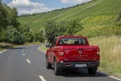 SsangYong Motors Deutschland Musso Back