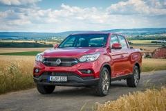 SsangYong Motors Deutschland Musso Front 2