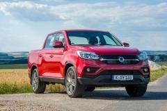 SsangYong Motors Deutschland Musso Front 3