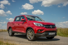SsangYong Motors Deutschland Musso Frontansicht