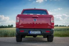 SsangYong Motors Deutschland Musso Rückansicht