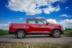 SsangYong Motors Deutschland Musso Seitenansicht 1