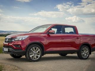 SsangYong Motors Deutschland Musso Seitenansicht