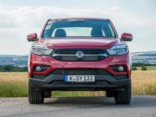 SsangYong Motors Deutschland Musso Vorderansicht