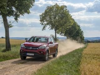 SsangYong Motors Deutschland Musso dynamisch1