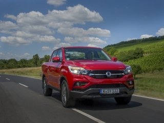 SsangYong Motors Deutschland Musso dynamisch2