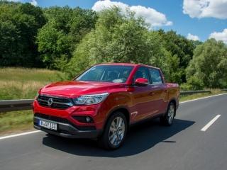 SsangYong Motors Deutschland Musso dynamisch
