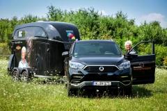 SsangYong Motors Deutschland Rexton Anhaenger Uta Graef
