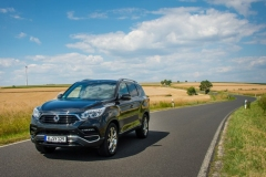 SsangYong Motors Deutschland Rexton Frontansicht