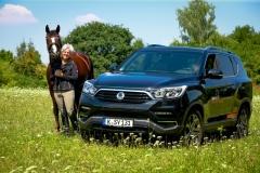 SsangYong Motors Deutschland Rexton Uta Graef 2