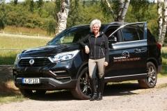 SsangYong Motors Deutschland Rexton Uta Graef