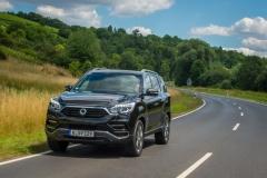 SsangYong Motors Deutschland Rexton dynamisch