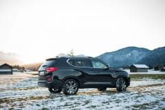 SsangYong Motors Deutschland Seitenansicht