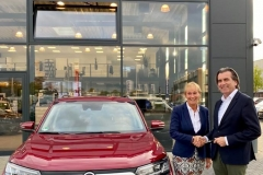 SsangYong Motors Deutschland Korando Uebergabe Gerl