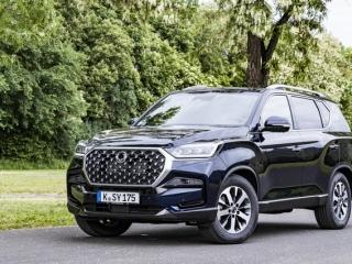 SsangYong Motors Deutschland Rexton 2021 Frontansicht 1
