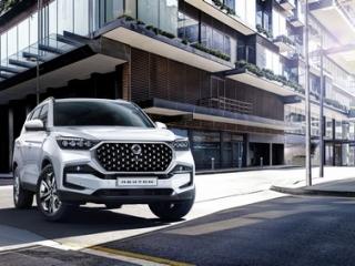 SsangYong Motors Deutschland Rexton 2021 Frontansicht 4