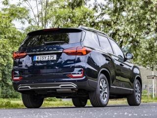 SsangYong Motors Deutschland Rexton 2021 Heckansicht