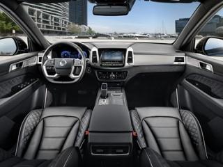SsangYong Motors Deutschland Rexton 2021 Innenansicht 1