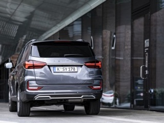 SsangYong Motors Deutschland Rexton 2021 Rueckansicht
