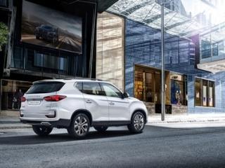 SsangYong Motors Deutschland Rexton 2021 Seitenansicht 1