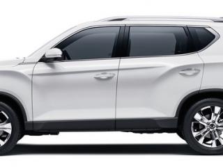 SsangYong Motors Deutschland Rexton 2021 Seitenansicht