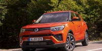 SsangYong Motors Deutschland Tivoli Frontansicht